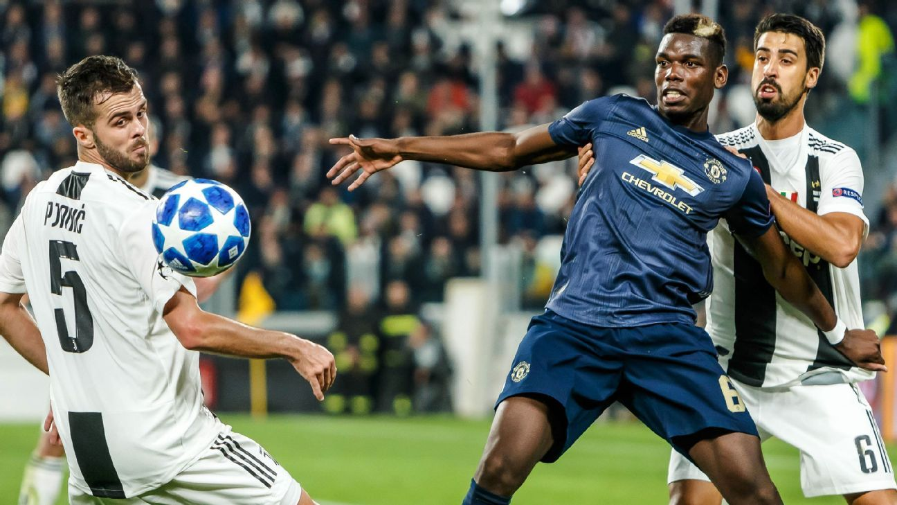 Image result for Paul Pogba underwhelms but Man United grab lucky late win at Juventus