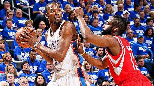 Oklahoma City Thunder vs. Houston Rockets (First Round, Game 3)