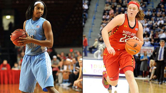 #11 North Carolina vs. #10 Maryland
