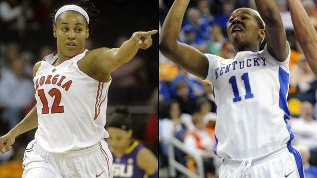 Georgia vs. Kentucky (Semifinal #2): SEC Women's Basketball Tournament