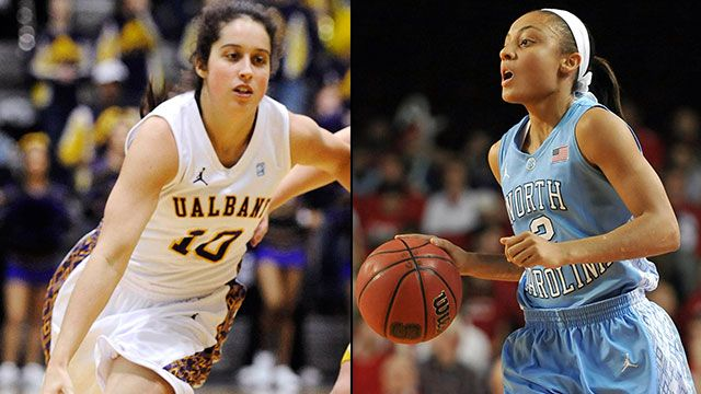 #14 Albany vs. #3 North Carolina (First Round): 2013 NCAA Women's Basketball Tournament