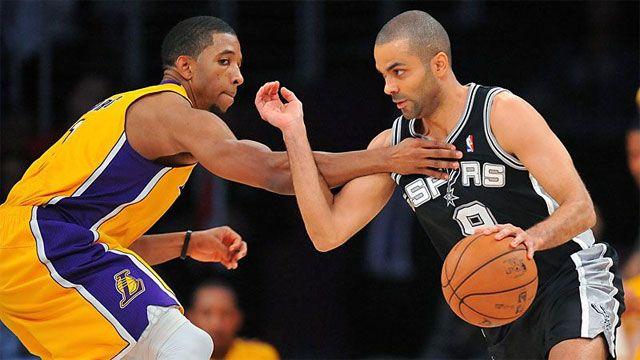 San Antonio Spurs vs. Los Angeles Lakers (First Round, Game 3)