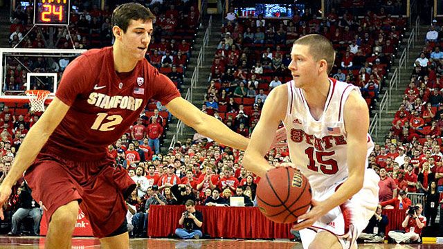 Stanford vs. #25 NC State: Holiday Hoops