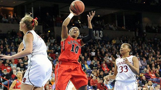 #4 Georgia vs. #1 Stanford (Regional Semifinal #1): 2013 NCAA Women's Basketball Championship