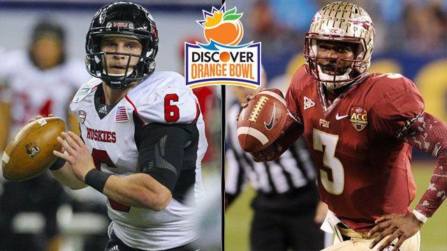 #15 Northern Illinois vs. #12 Florida State: 2013 Discover Orange Bowl (Spanish)