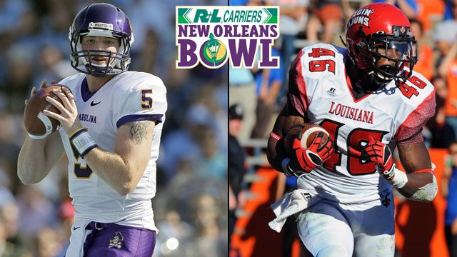 East Carolina vs. Louisiana-Lafayette: 2012 R+L Carriers New Orleans Bowl