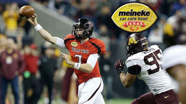 Minnesota vs. Texas Tech: 2012 Meineke Car Care Bowl of Texas