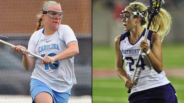 #3 North Carolina vs. #2 Northwestern (Semifinal #1): NCAA Women's Lacrosse Championship