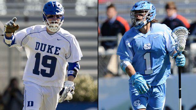#17 Duke vs. #8 North Carolina
