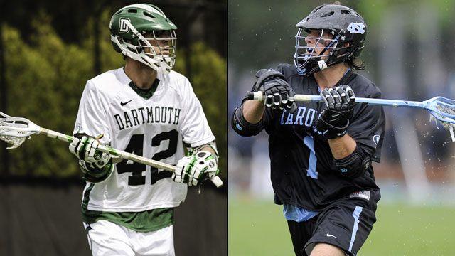 Dartmouth vs. #8 North Carolina