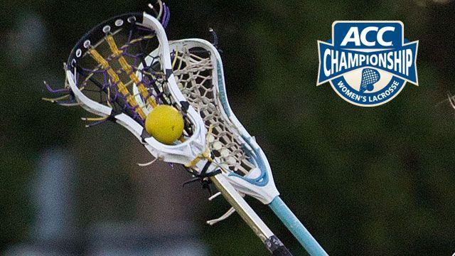 #5 Virginia vs. #4 Duke (First Round): 2013 ACC Women's Lacrosse Championship
