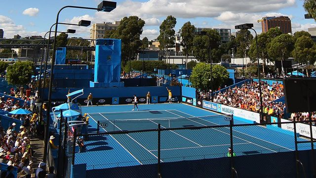 Ashleigh Barty (AUS) and Jack Sock (USA) vs. Su-Wei Hsieh (TPE) and Rohan Bopanna (IND)