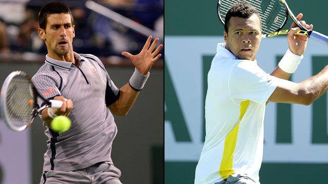 Novak Djokovic (Srb) vs. Jo-Wilfried Tsonga (Fra) (Men's Quarterfinal #3)
