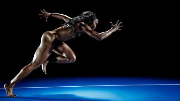 Body Issue 2012: Carmelita Jeter