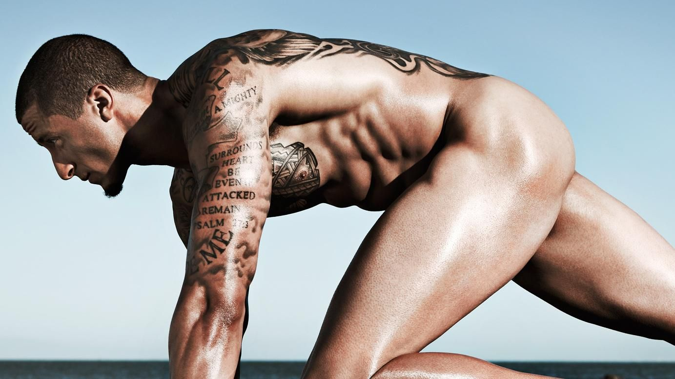ESPN The Mag Body Issue 2013: Colin Kaepernick