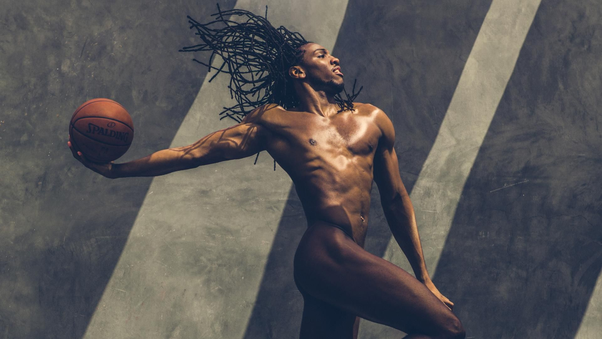 ESPN The Mag Body Issue 2013: Kenneth Faried
