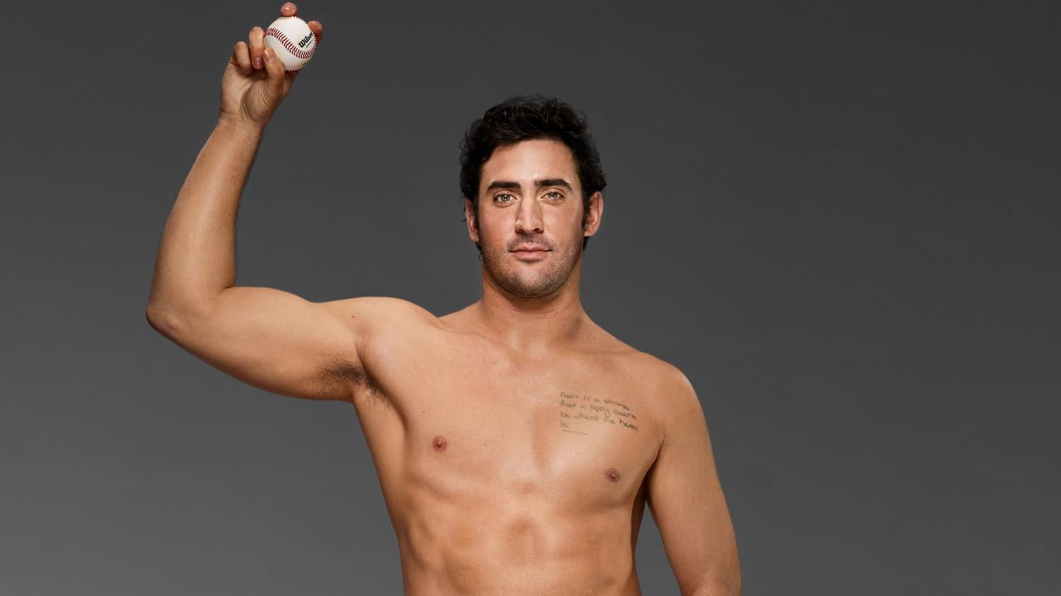 ESPN The Mag Body Issue 2013: Matt Harvey