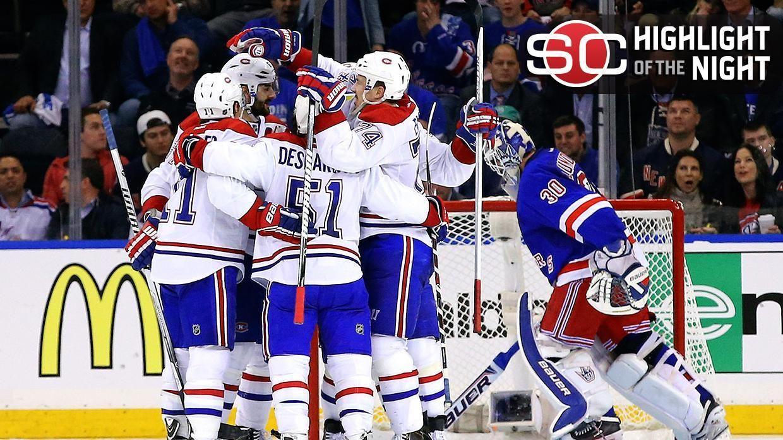 Canadiens Win In OT