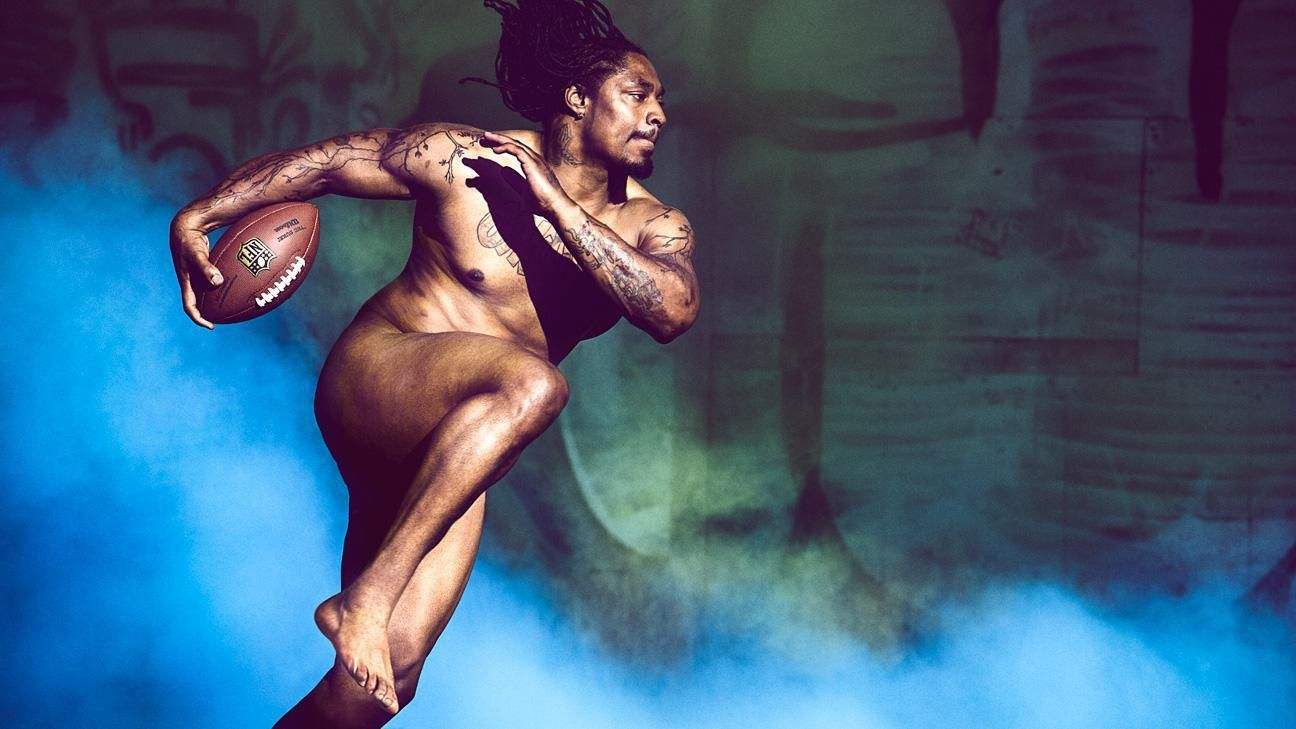 ESPN The Magazine 2014 Body Issue: Marshawn Lynch