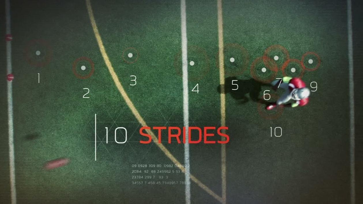 Sport Science: Antonio Brown's Precise Routes