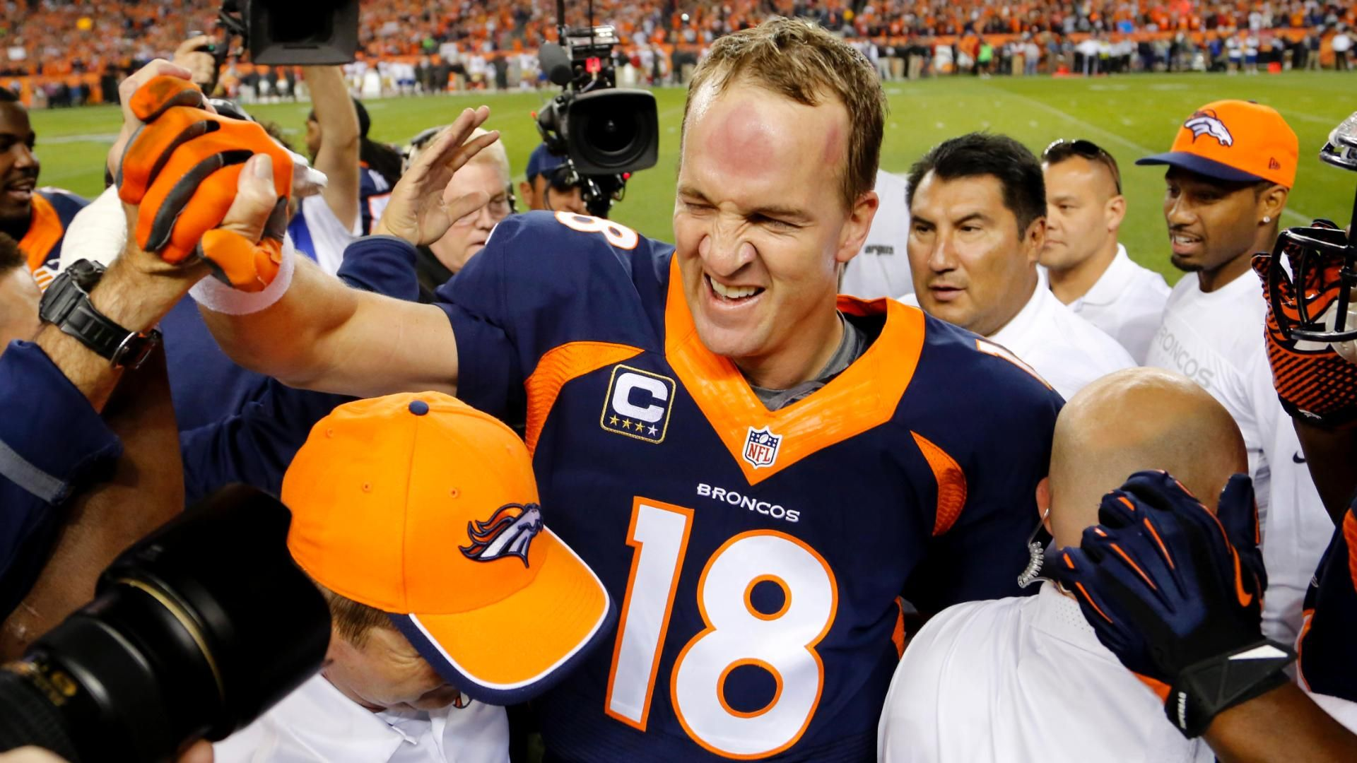 Every Player To Catch A TD Pass From Manning