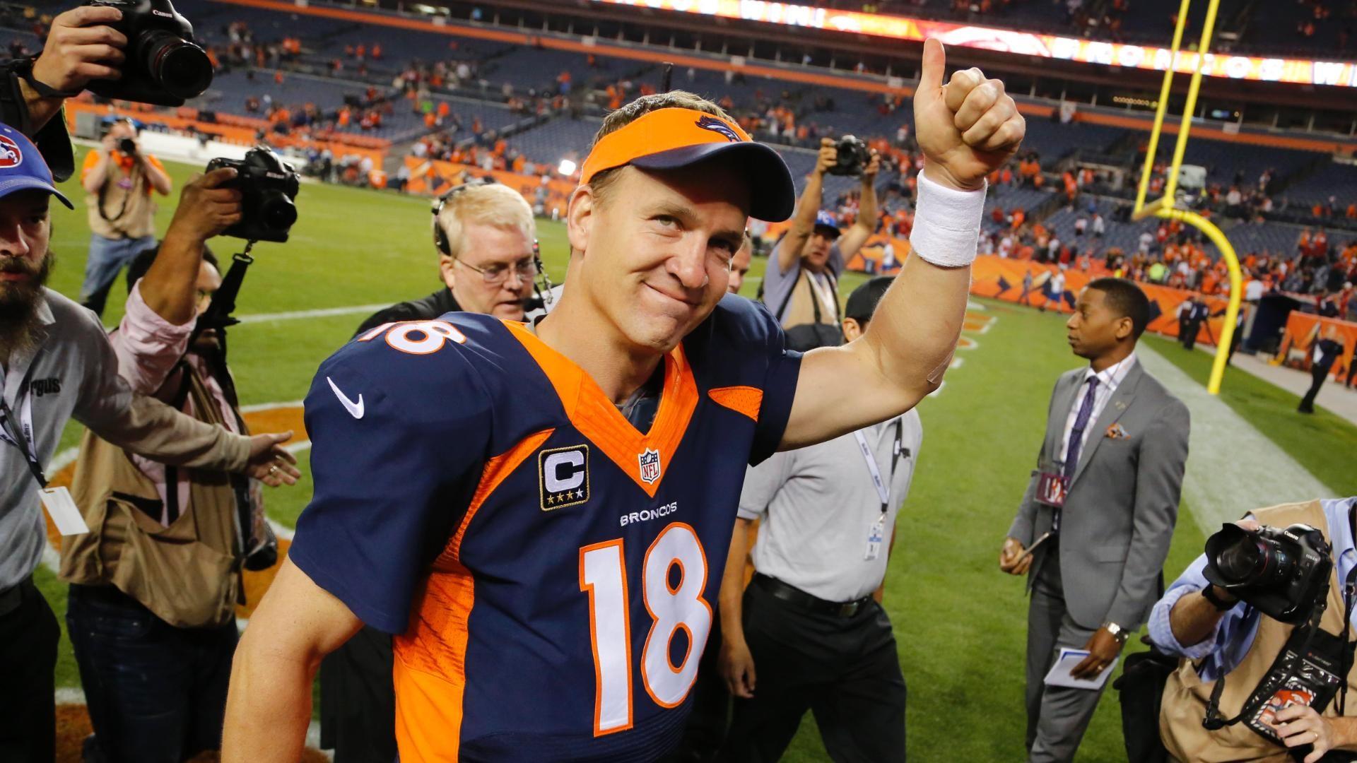 Peyton Manning; 'Glad It Was At Home'