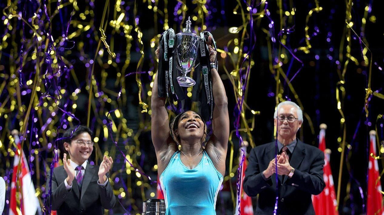 Serena Claims Third Straight WTA Finals Title