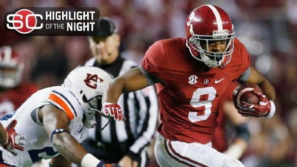 Alabama Outlasts Auburn In Iron Bowl
