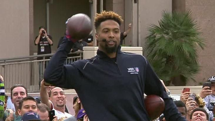 Beckham Sets Record For One-Handed Catches