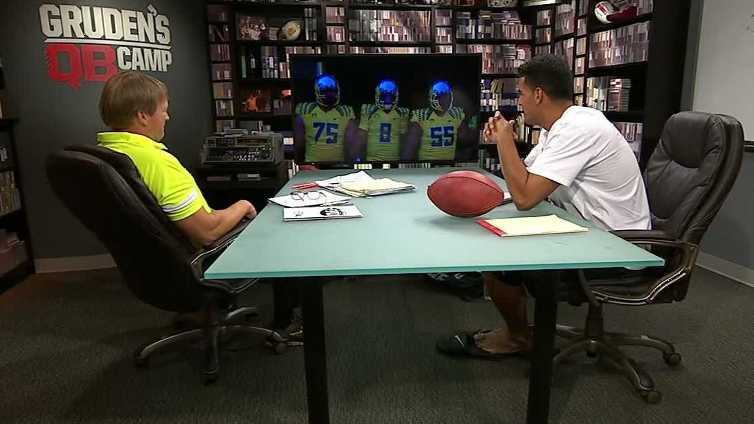 Gruden's QB Camp: Mariota On Oregon's Offense