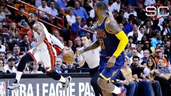 Wade-Led Heat Stun Cavs, LeBron