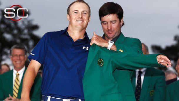 Spieth leads wire-to-wire to win the Masters
