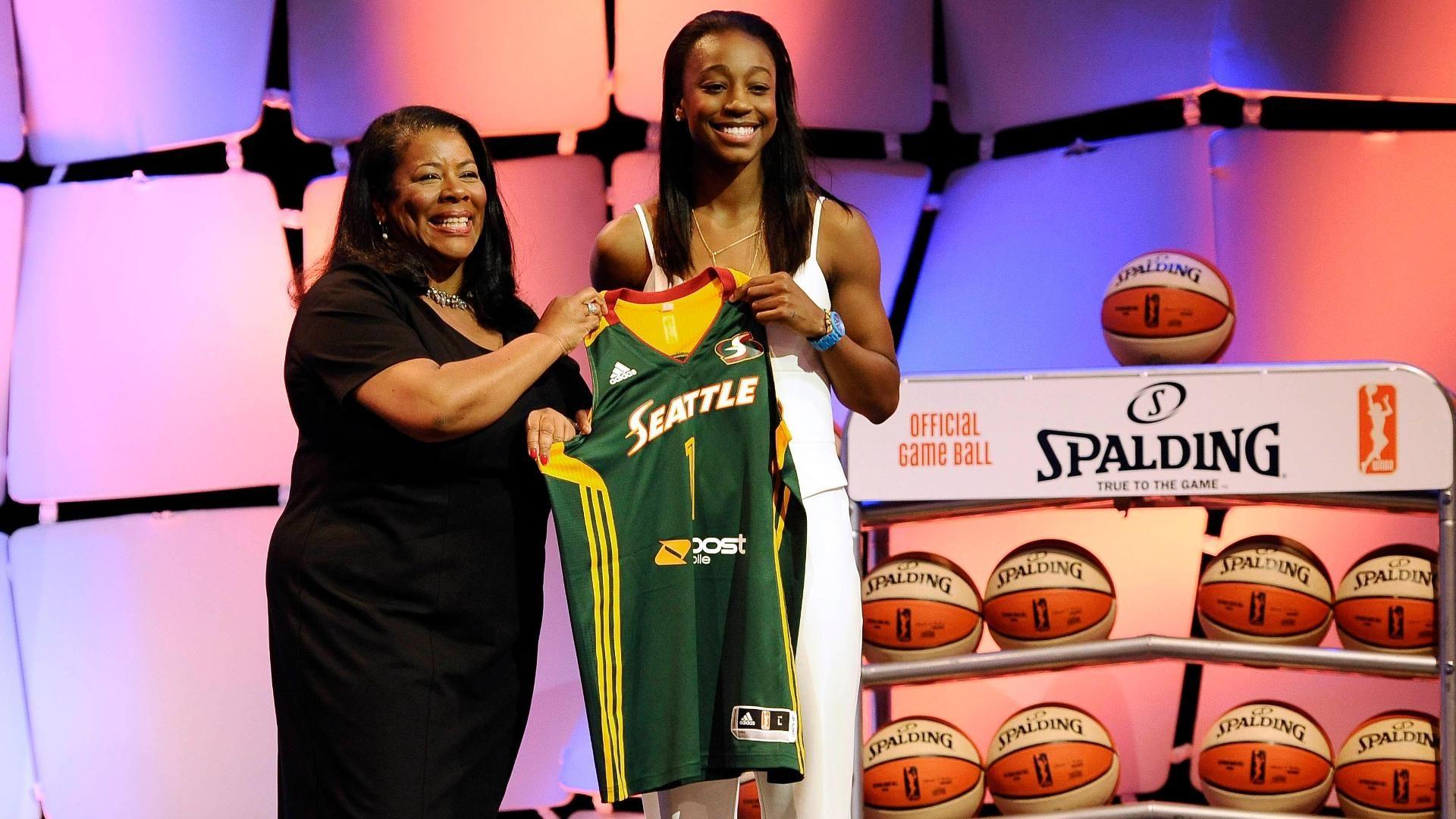 W @ the WNBA draft: Loyd interview