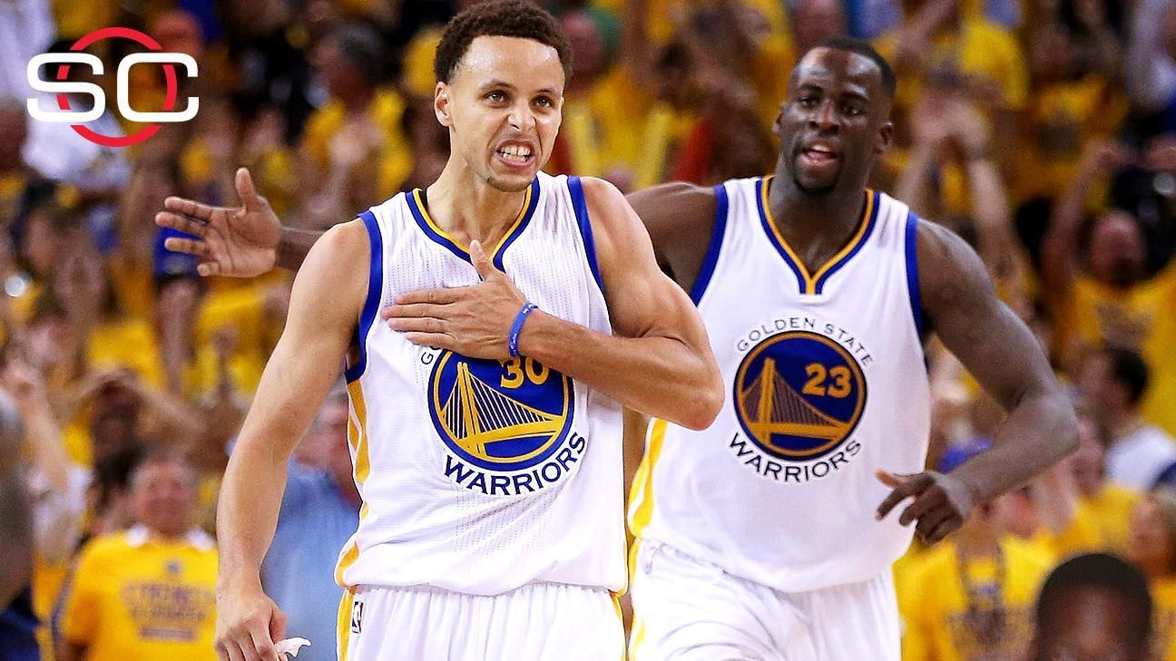 Curry, Warriors on the brink