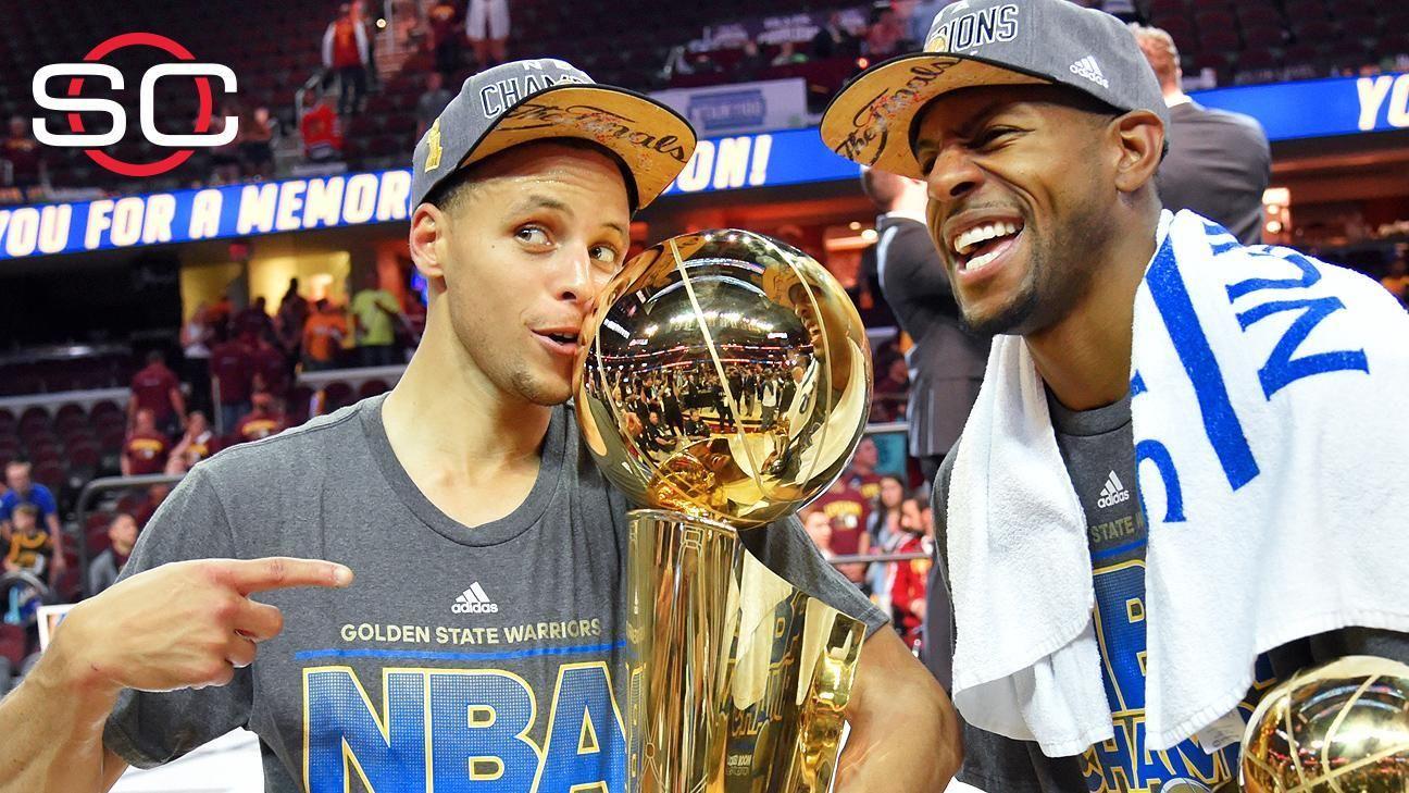 Warriors win NBA championship