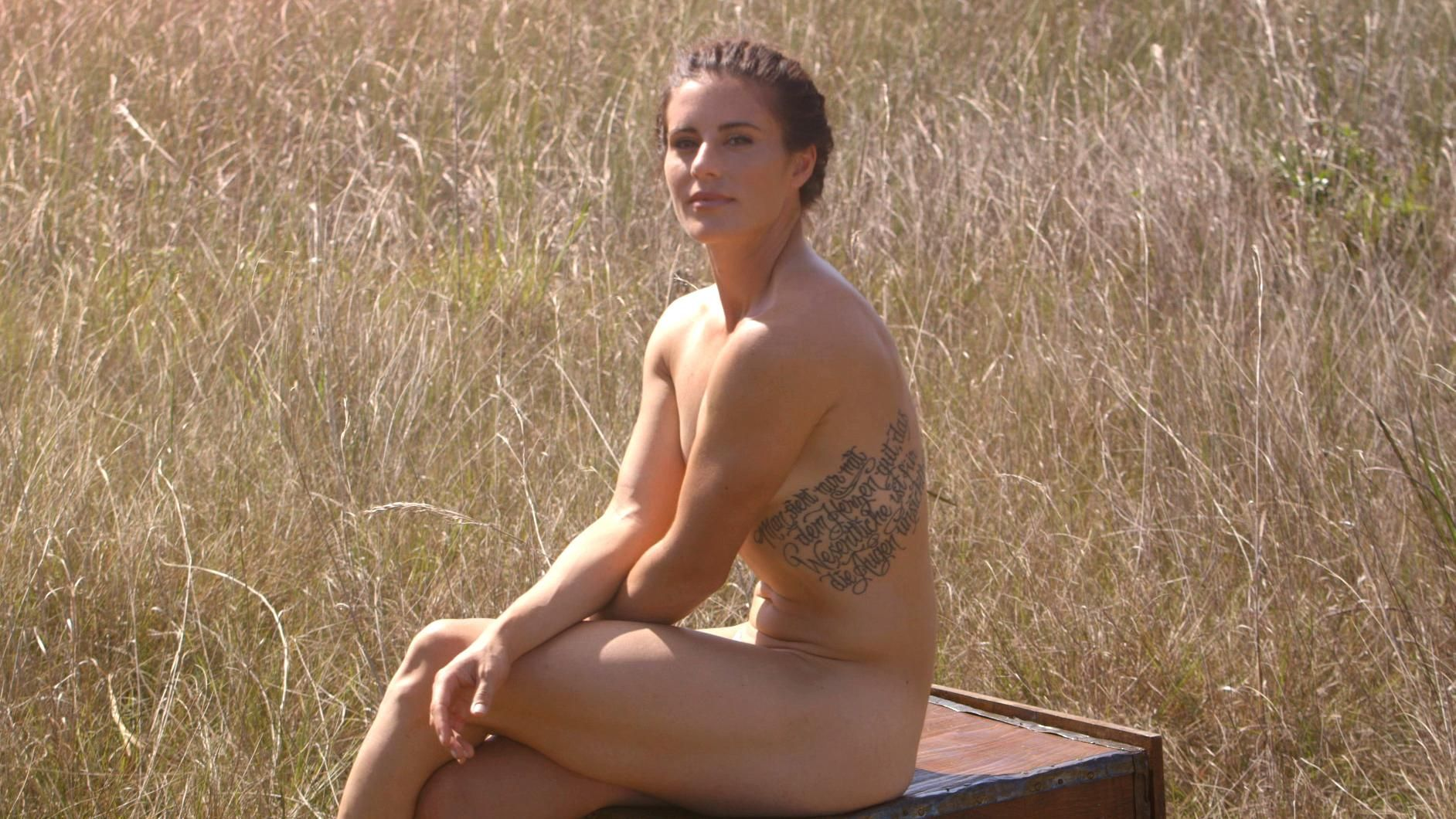 ESPN The Magazine's 2015 Body Issue: Ali Krieger