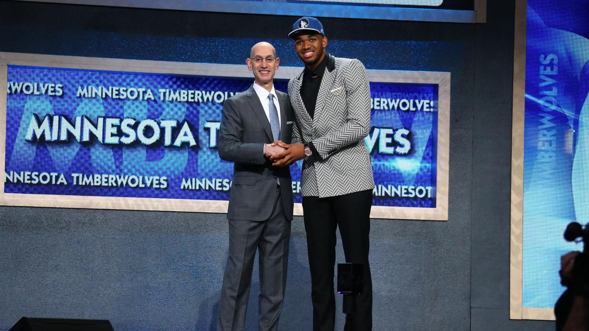 Karl-Anthony Towns drafted first by Timberwolves