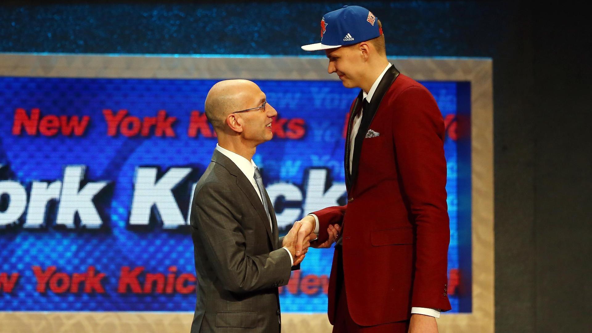 Kristaps Porzingis drafted No. 4 by Knicks