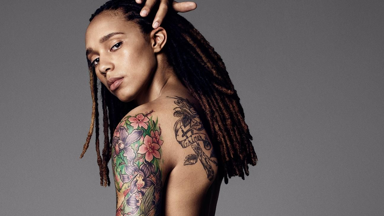 ESPN The Magazine's 2015 Body Issue: Brittney Griner