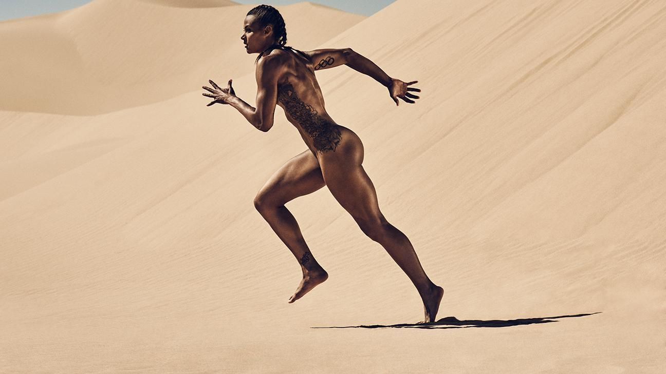 ESPN The Magazine's 2015 Body Issue: Chantae McMillan