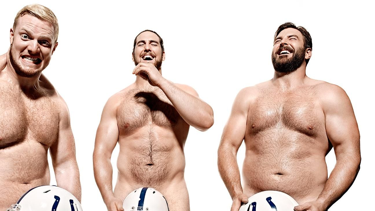 ESPN The Magazine's 2015 Body Issue: Colts Offensive Line