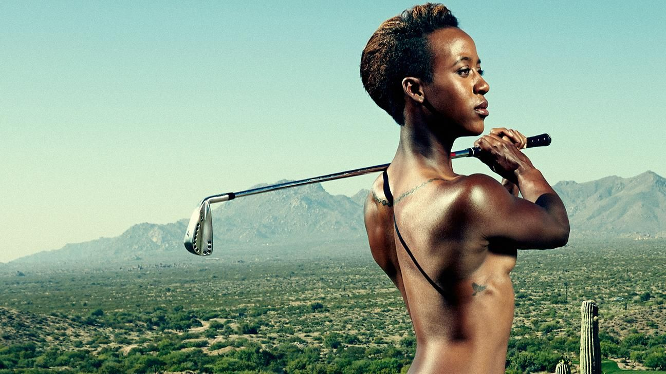 ESPN The Magazine's 2015 Body Issue: Sadena Parks