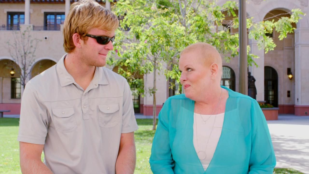 Jake Olson, Shelley Smith continue to fight on