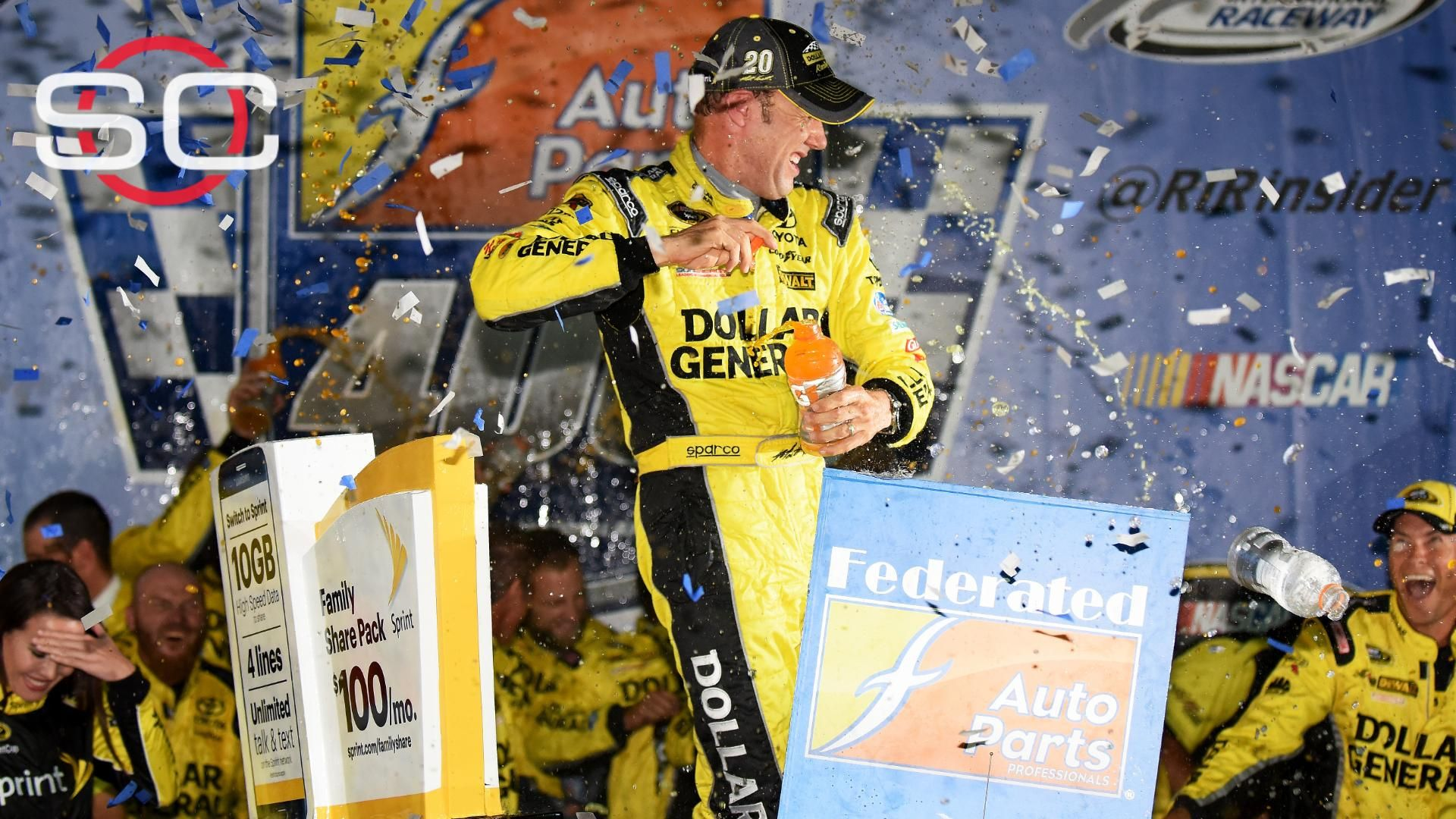 Kenseth takes Richmond for fourth win of the year