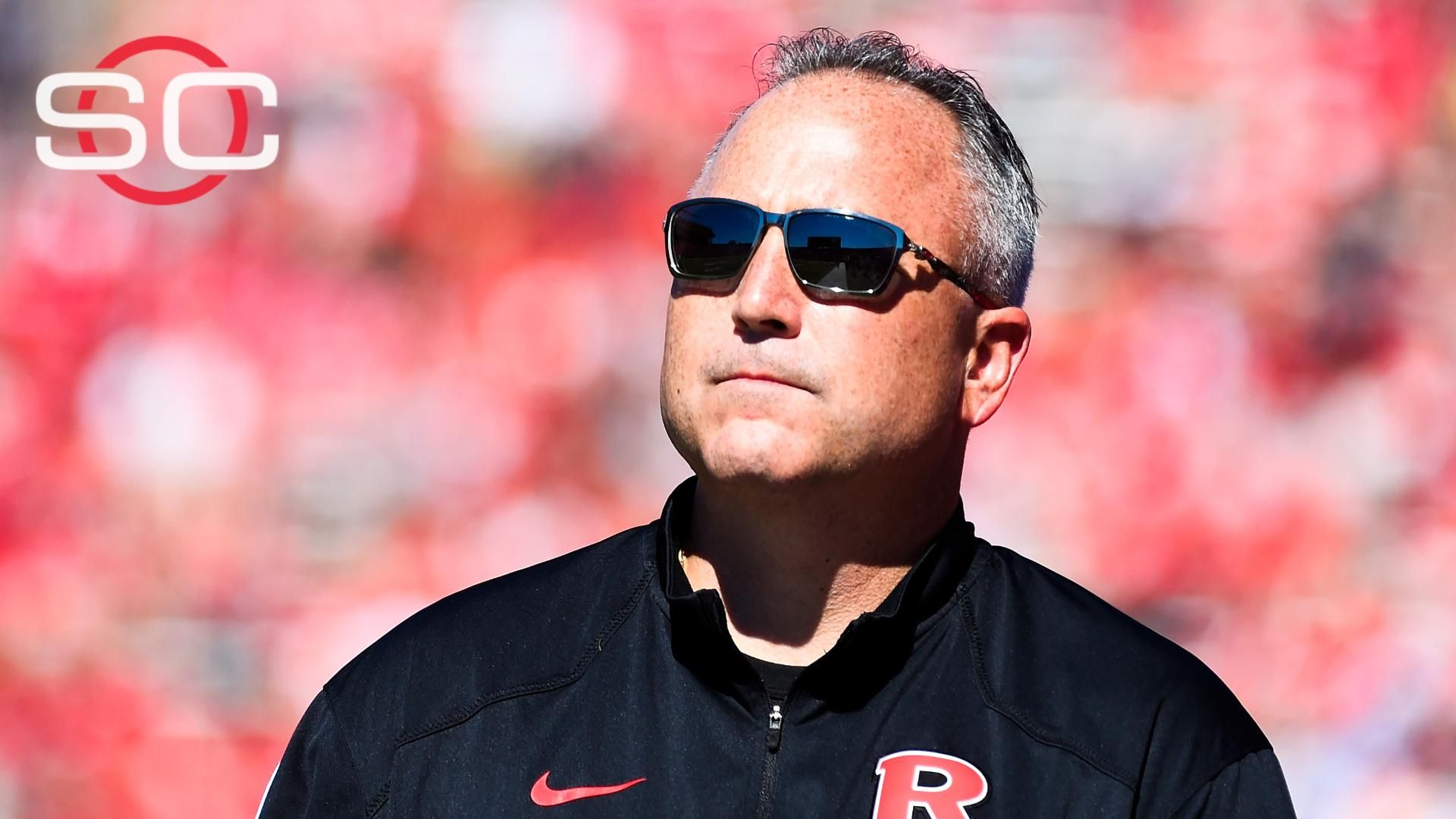 Rutgers bans coach Flood three games for faculty contact