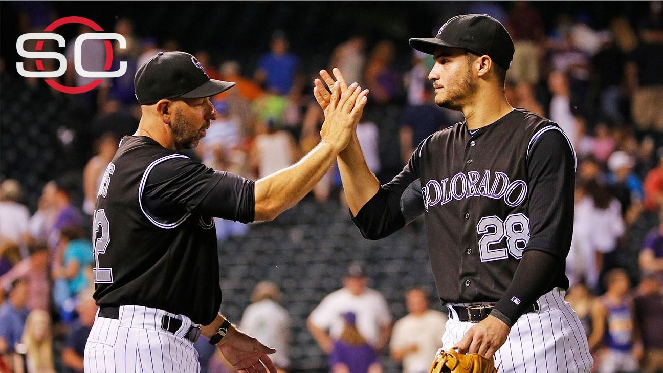 Rockies' Arenado, Gonzalez defend manager Weiss