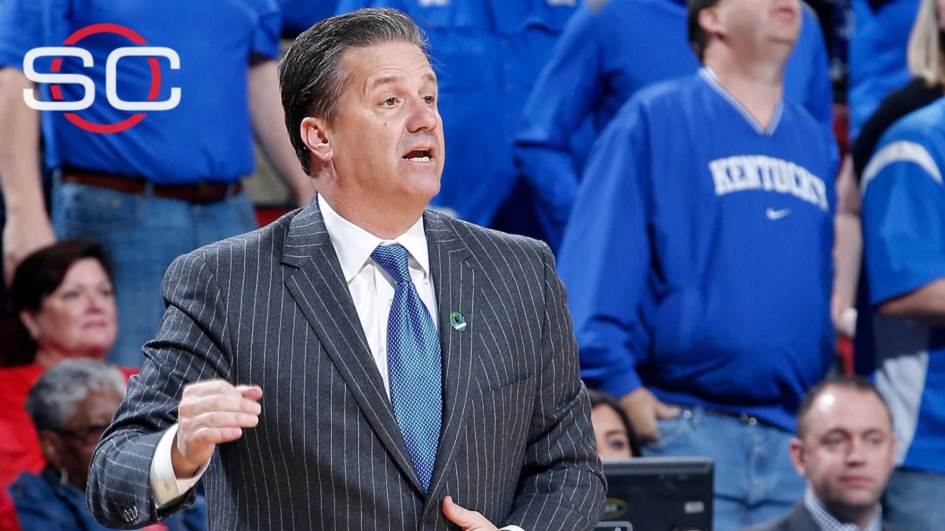 Is Calipari posturing by saying Wildcats stink?