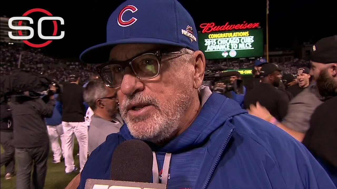 Maddon: The feeling is indescribable
