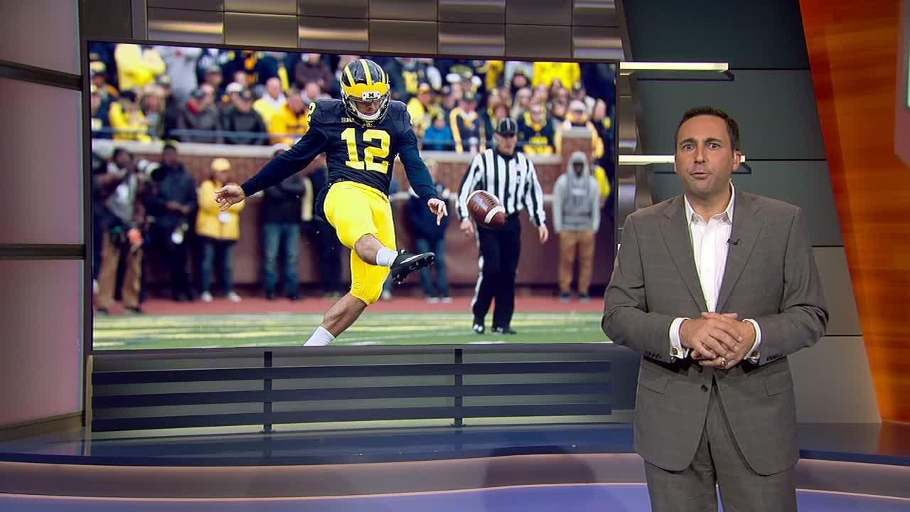 Tessitore takes issue with backlash against Michigan punter