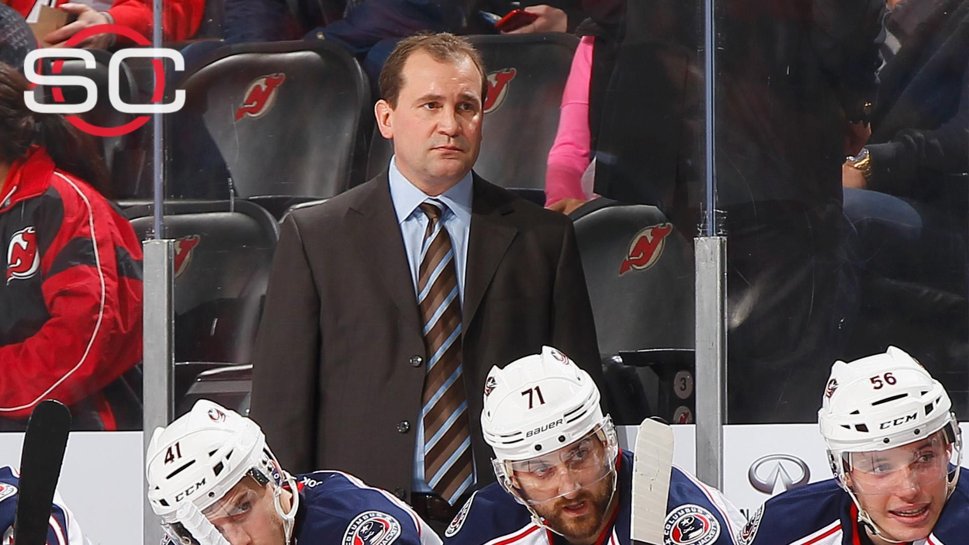 Todd Richards fired after Blue Jackets' winless start